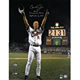 Ironclad Exclusive! Ripken 2131 Signed 16x20 w/ Game # and Date