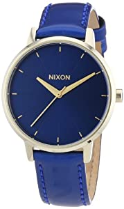 Nixon Damen-Armbanduhr Kensington Leather Analog Quarz Leder A1081395-00