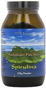 Microrganics Hawaiian Pacifica 225g Spirulina Powder