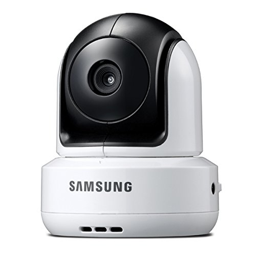 Samsung SEP-1001RW Night Vision Wireless Pan Tilt Zoom Baby Monitoring Camera, White
