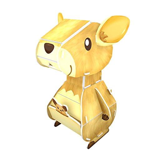 Cubic Fun Wild Life - Kangaroo, K1504h
