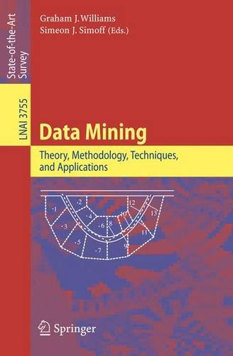 Data Mining: Theory, Methodology, Techniques, and Applications (Lecture Notes in Computer Science / Lecture Notes in Art