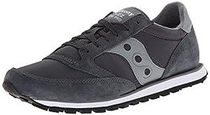Saucony Originals Men's Jazz Low Pro Sneaker,Charcoal/Grey,10 M US
