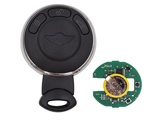 Keyecu Smart Remote Key Fob CAS System 3Button 315LP Mhz ID46 for Mini Cooper 2007-2014
