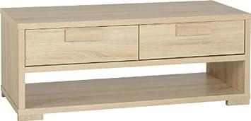 Tavolino da caffè Cambourne, in legno di quercia