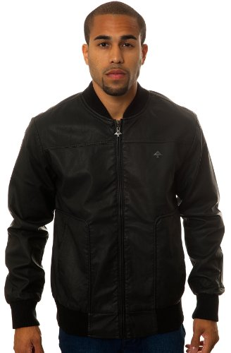 LRG Men's Core Collection Faux Leather Jacket,
