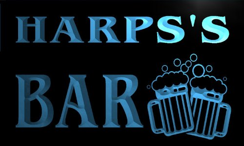 w033182-b-harps-name-home-bar-pub-beer-mugs-cheers-neon-light-sign-barlicht-neonlicht-lichtwerbung
