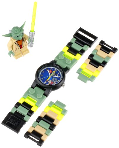 The LEGO watch LEGO WATCH watches StarWars star / 9002076 wars Yoda Yoda
