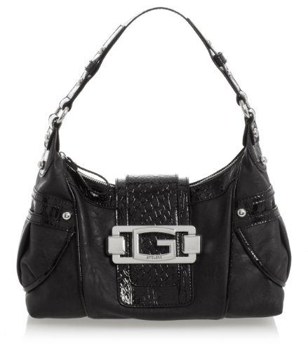 G by GUESS Lemon Drop Top Zip Bag