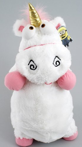 """Despicable Me """"It's So Fluffy"""" Agnus the Unicorn 22"""" Plush Pillow Doll Babyland"""