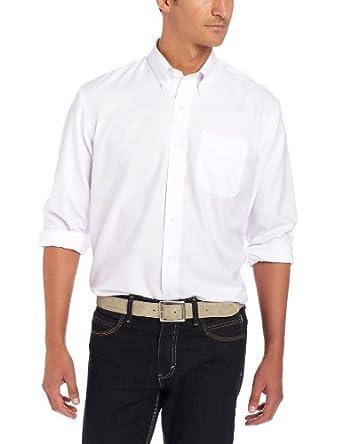 Cutter & Buck Mens Long Sleeve Epic Easy Care Nailshead Shirt by Cutter & Buck