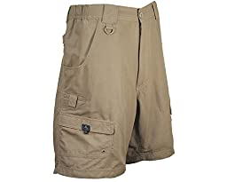 Hook & Tackle Barrier Reef Shorts - Khaki - Size 38