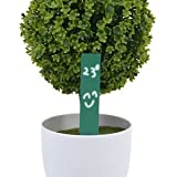 Banggood 100 Long Stick Plastic Garden Plant Seed Labels Markers Nursery Tags Green