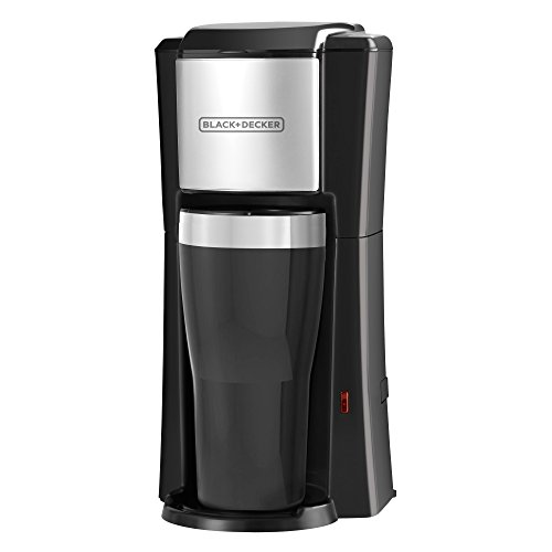 BLACK+DECKER CM618 Single Serve Coffee Maker, Black