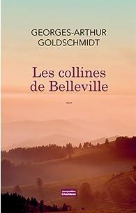 Les collines de Belleville par Georges-Arthur Goldschmidt