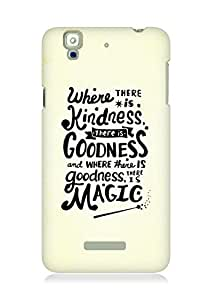 AMEZ where there is kindness there is goodness Back Cover For YU Yureka