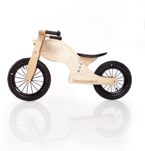 Prince Lionheart Chop Balance Bike, Natural - 1