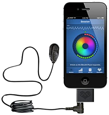 Heartmath 6400 Inner Balance Sensor for IOS, Black