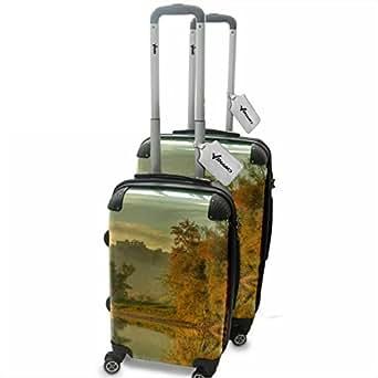 Amazon.com: Landscapes 10016, Forest in Autumn, 2 Piece Lightweight