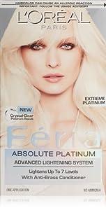 loreal feria platinum blond reviews image Car Pictures