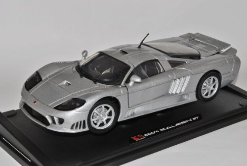 Saleen S7 Coupe Silber 2004 1/18 Motormax Modell Auto