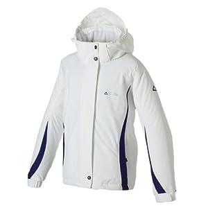 Dare 2B Spindle Girls Ski Jacket - White/Rum, Size 7-8