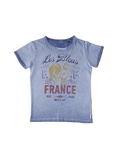 Pepe Jeans T-Shirt Manica Corta France Junior [Blu Scuro]
