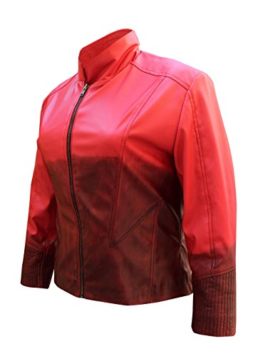 Star American Women's Scarlet Witch Jacket Movie Avengers Age of Ultron Jacket