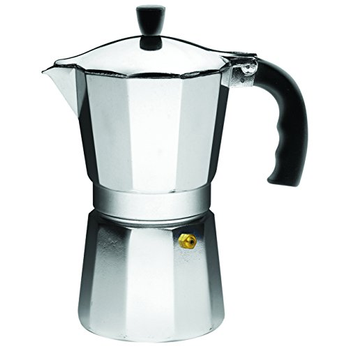 Lowest Prices! IMUSA, B120-43V, Aluminum Espresso Stovetop Coffeemaker 6-cup, Silver
