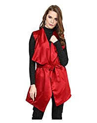 Yepme Women's Red Polyester Jackets - YPMJACKT5195_S