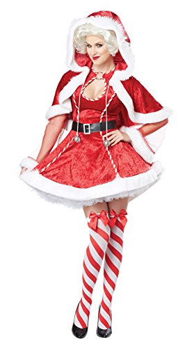 California Costumes Women's Sexy Mrs. Claus Adult
