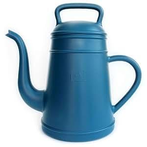 Gießkanne 'Lungo' Kunststoff blau Kaffeepott- Look Inhalt 12 Liter