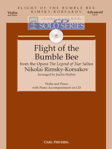 Flight of the Bumble Bee - Advanced - Violin & Piano - BK/CD
