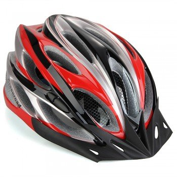 Road Mountain Bike Bicycle Cycling Helmet Visor Adjustable Red front-890137