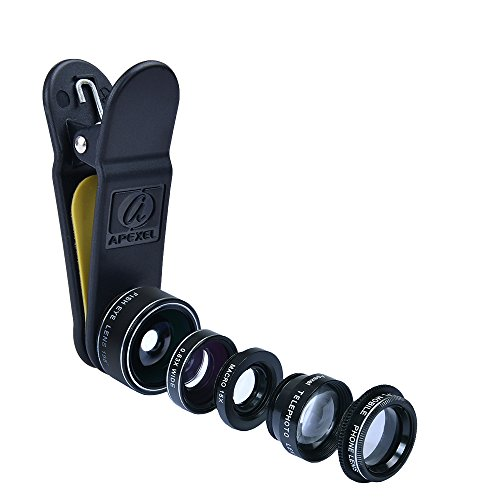 apexel-deluxe-universal-5in1-camera-lens-kit-for-smartphone-tablet-and-laptop-fish-eye-lens-2in1-mac