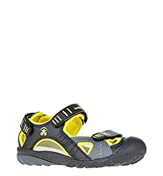 Kamik Pike Sandal (Little Kid/Big Kid), Black, 1 M US Little Kid