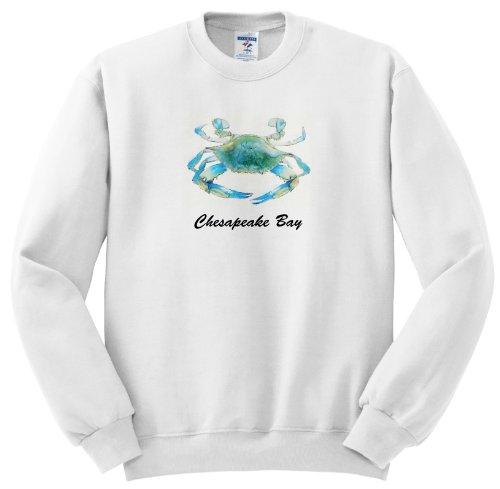 EvaDane - Quotes - Chesapeake Bay. Blue Crab. Maryland. - Sweatshirts - Adult SweatShirt 4XL
