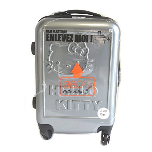 Abs-trolley-suitcase-Hello-Kittysilvery-48-cm-000