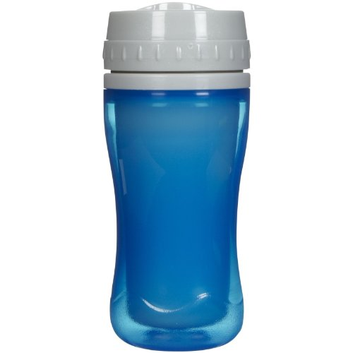 Playtex Coolster Tumblers, Insulated And Spill-Proof, Stage 4, Ages 12m+, 10 Oz, (BLUE)
