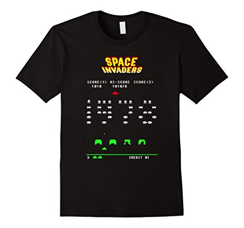 Mens/Womens Space Invaders 1978 T-Shirt -  5 Colors - S to 3XL