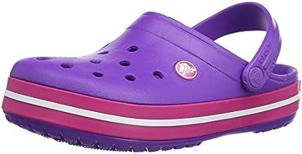 [クロックス] crocs Crocband 11016 59X(Neon Purple/Candy Pink/M4W6) クロックバンド