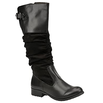 Mootsies Tootsies Cinchy Womens Boots Black Sy 6