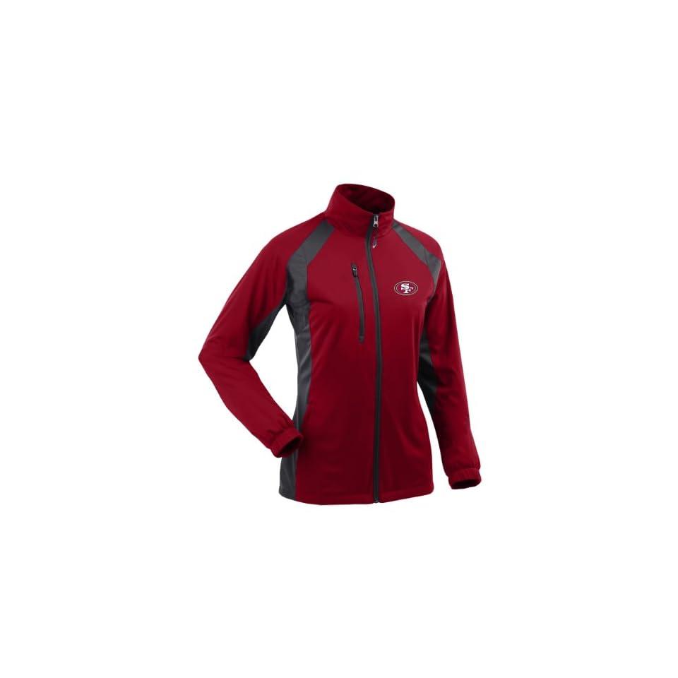 NFL Womens San Francisco 49Ers Rendition Desert Dry Jacket
