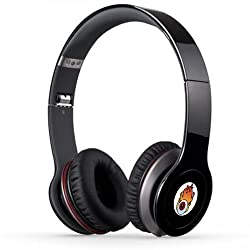 Acid Eye Black Bluetooth Wired and Wireless overear headphone S-450 with Aux cable connector