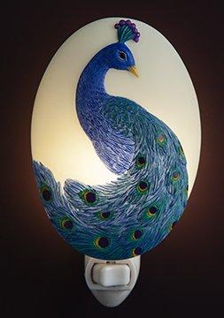 peacock nightlight