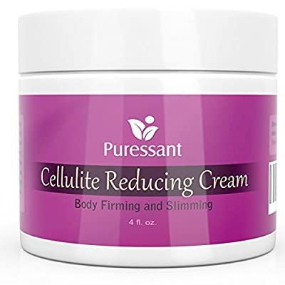 Best Cellulite Cream with Caffeine and Retinol - For Body, Arms, Legs Firming and Slimming - Strongest Anti Cellulite Treatment can use with massager, wraps, pants and roller gel | MADE IN USA