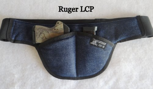 Small Smart Deep Concealed Carry Handgun Holster For Ruger