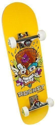 "Rocket Mini Tiki Tavola da skateboard 31"" 78cm completa - Legno, Mini Tiki Vento"