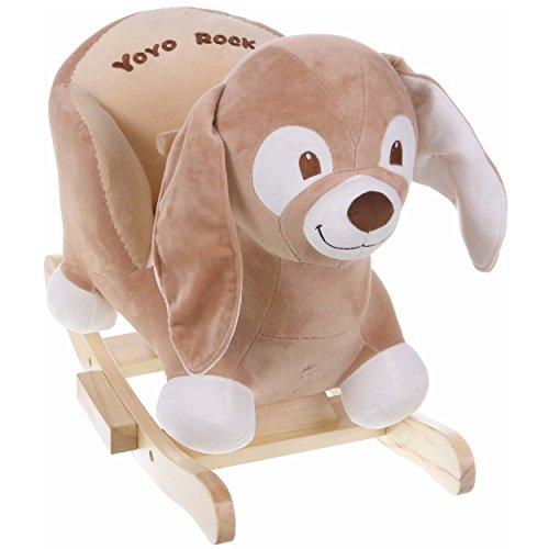Schaukelhund Schaukeltier Plüsch Schaukelspielzeug