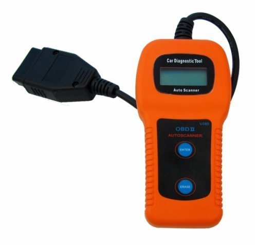 U380 OBDII Check Engine Auto Scanner Trouble Code Reader